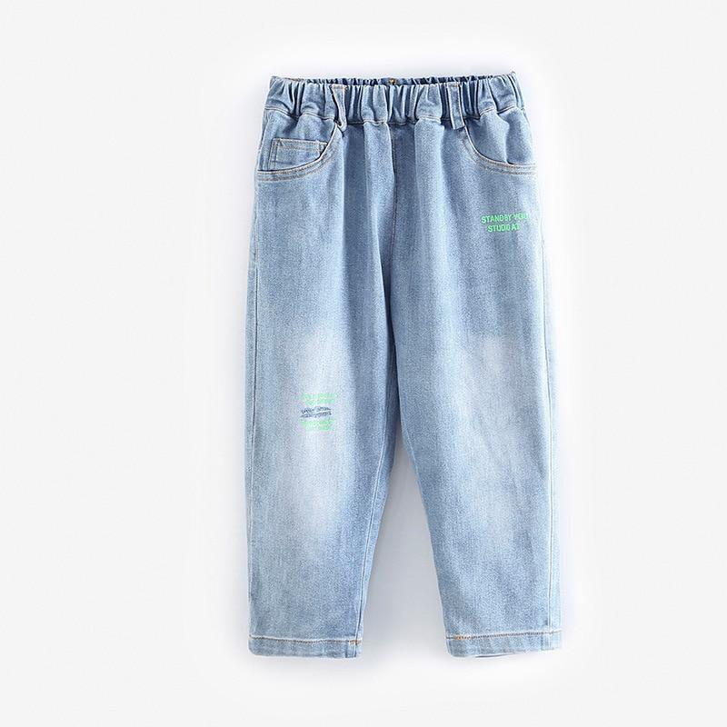 Boys jeans 2020 new autumn clothes children's loose pants casual trousers denim pants legs baby boy clothes boys pants