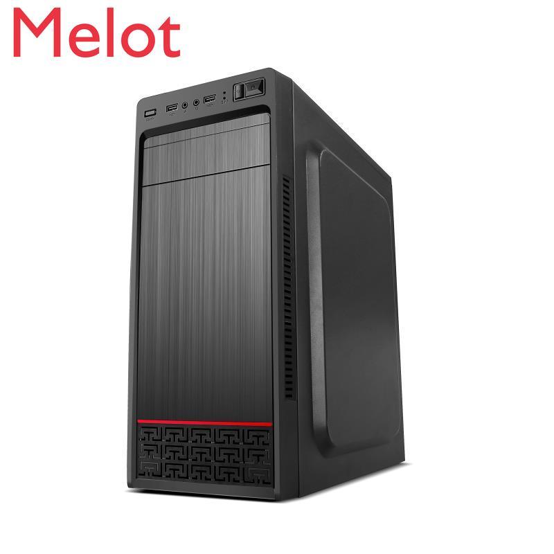 لتقوم بها بنفسك تجميع كمبيوتر مكتبي لوحة كبيرة الهيكل الرئيسي مجموعة امدادات الطاقة ATX مكتب البساطة قذيفة USB3.0 صندوق فارغ