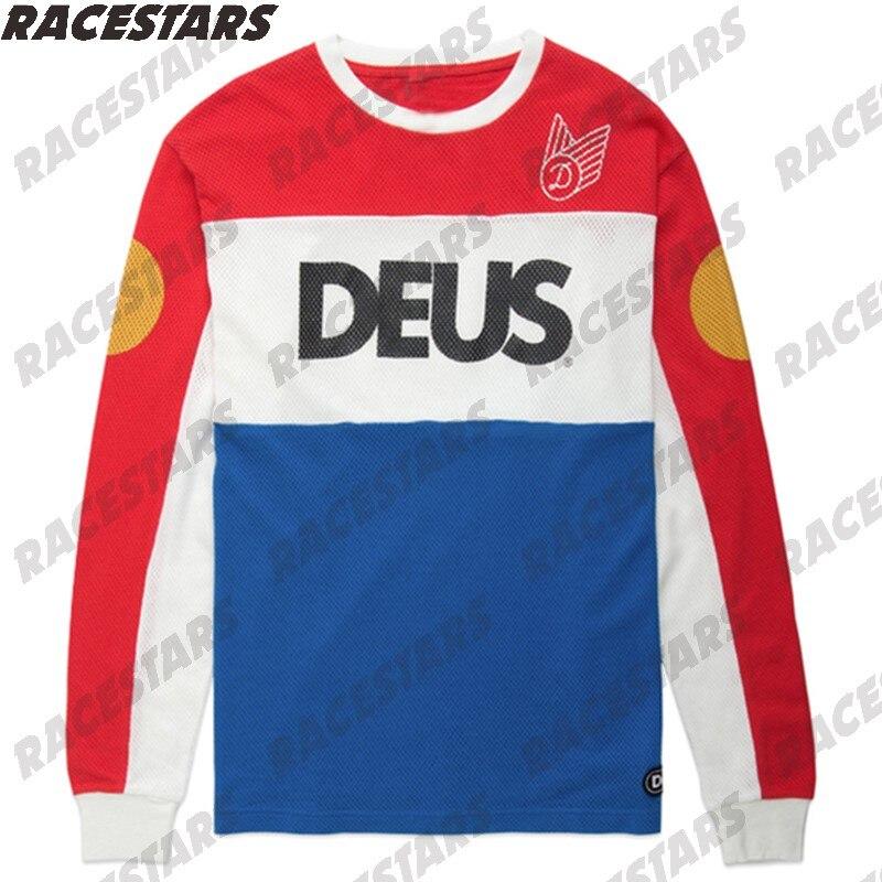 Camisetas de carrera para Motocross para Hombre, Maillot de Ciclismo Enduro, BMX,...