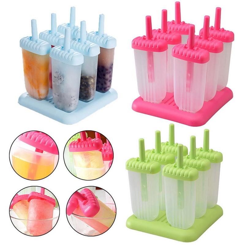 Moules pour glaces et glaces, bricolage pièces par ensemble