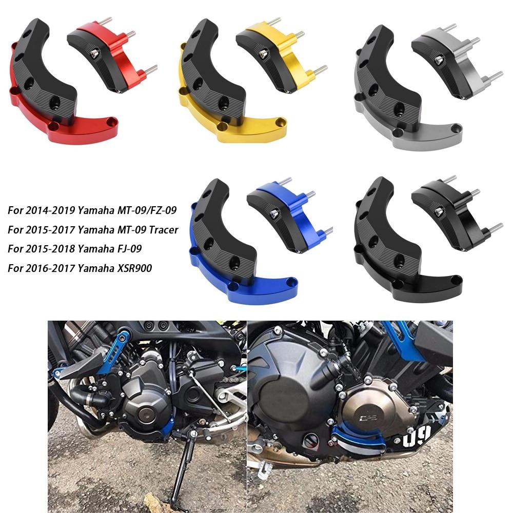 MT09 motor funda protectora deslizante Protector de cubierta para Yamaha MT-09 FZ09 FJ-09 MT 09 Tracer 900 XSR900 2014, 2015, 2016, 2017, 2018, 2019