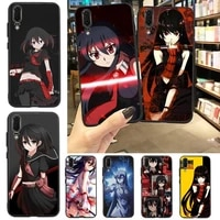 akame ga kill anime girl phone case for huawei p20 p30 p40 lite pro p smart 2019 mate 10 20 lite pro nova 5t