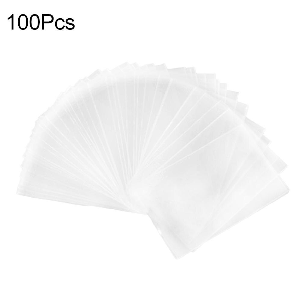 Hot 100Pcs Clear Game Tarot Three Kingdom Poker Football Star Card Sleeves Protector