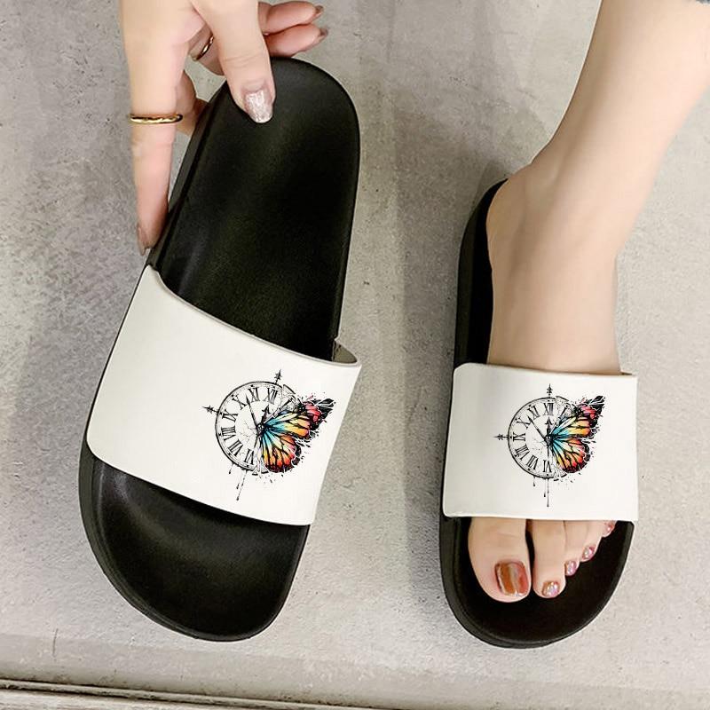 Women Slippers Summer Fashion Slide shoes for woman Sandals Beach Flip Flops Female Non-slip Home Slippers Zapatillas De Hombre