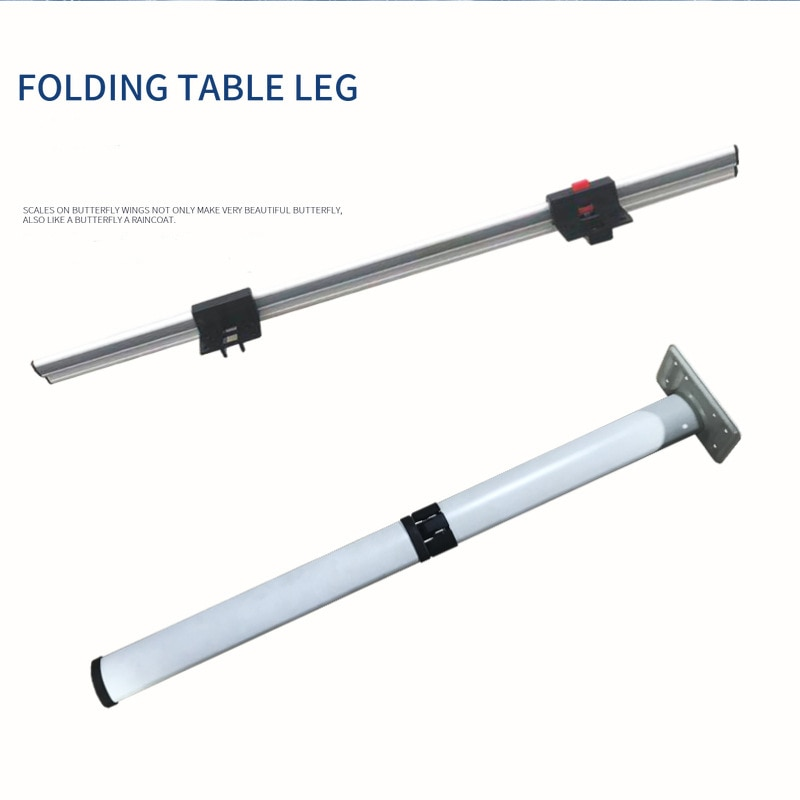 New RV Detachable Folding Table Legs High-Quality Lifting Tables Outdoor Aluminum Alloy Fixings  Commercial Vehicles Accessories enlarge