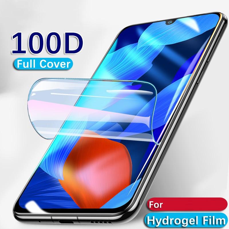 Película protetora de tela 25d para ulefone, película de hidrogel para proteção de tela, note 7/7p, ulefone s11 power 6 não vidro