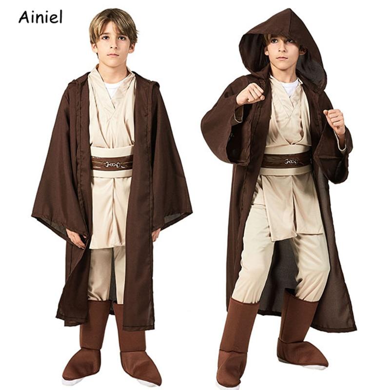 Star wars cosplay disfraz rey kylo ren luke skywalker jedi traje obi wan soldados negros meninos storm troopers meninas crianças