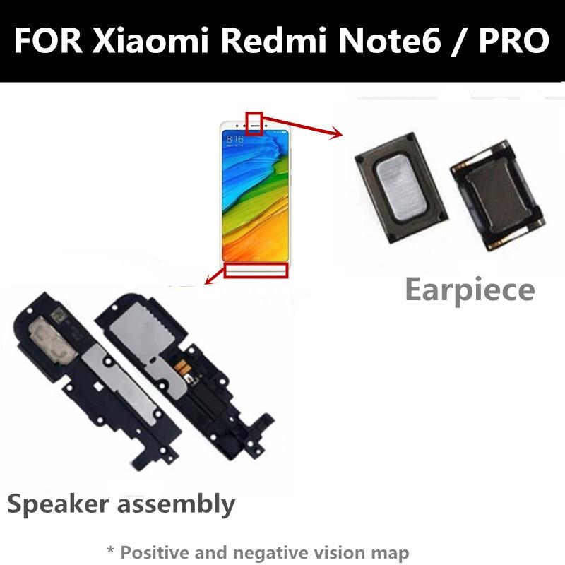 FOR Xiaomi redmi note6 NOTE 6 PRO  Loudspeaker composition Front Earpiece Ear piece Speaker earpiece