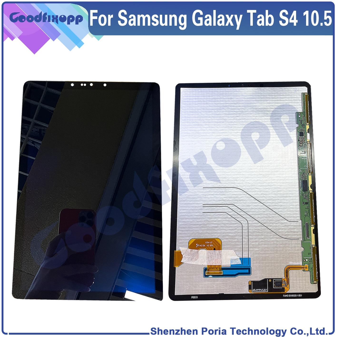 100% اختبار لسامسونج غالاكسي تبويب S4 10.5 SM-T830 شاشة LCD تعمل باللمس محول الأرقام الجمعية استبدال SM-T835