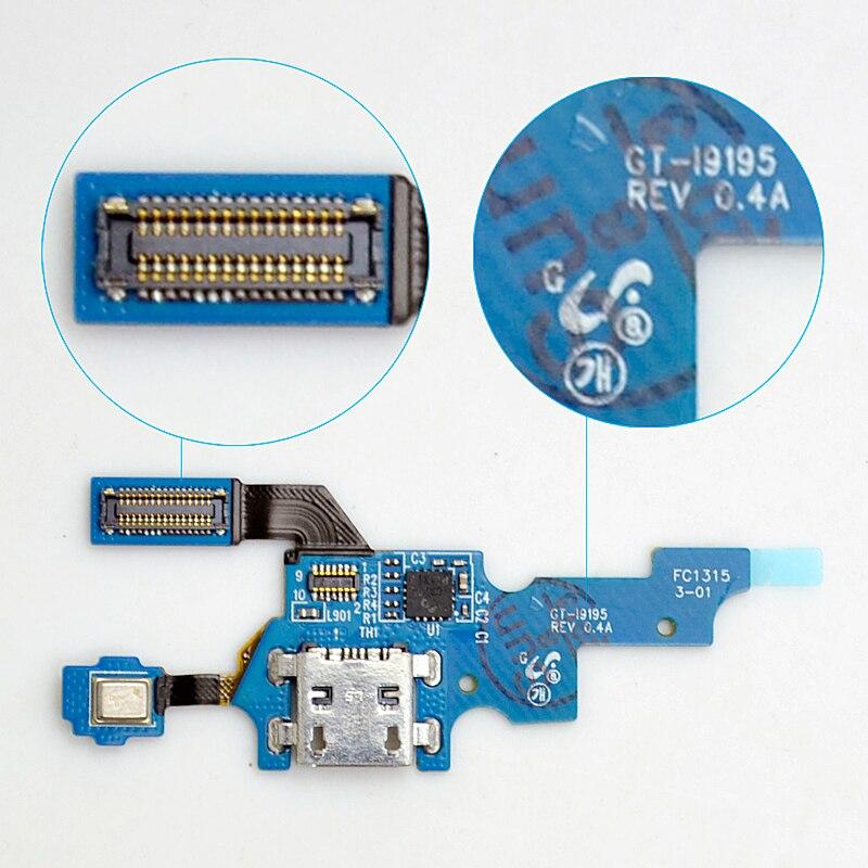 Para Samsung Galaxy S4 Mini i9195 I9190 i9192 puerto de carga USB...
