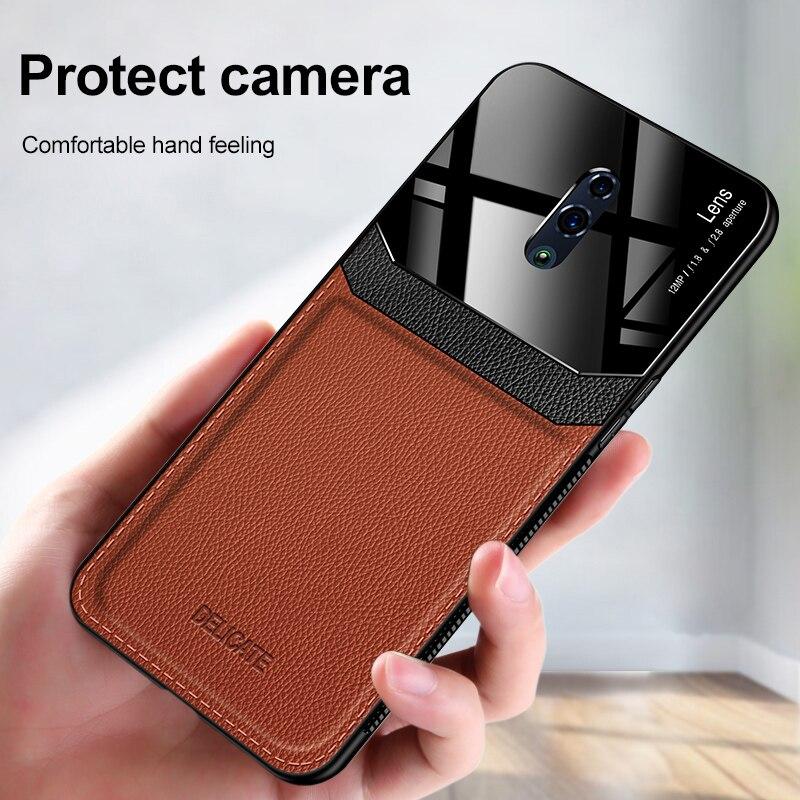 Case for Oppo Realme X50 Pro A31 XT Find X2 Realme C3 A91 Reno 3 Pro 2F A9 2020 Business Style PU Leather Case Cover Funda