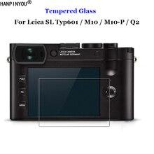 Für Leica SL Typ601 Typ 601 / M10 / M10-P M10P / Q2 Gehärtetem Glas 9H 2,5 D Premium kamera LCD Screen Protector Film