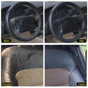 Image 4 - Чистящее средство для салона автомобиля, потолочный очиститель для автомобильной обивки, кожаной ткани, очищающее средство без воды для автомобильной крыши, инструмент для очистки приборной панели