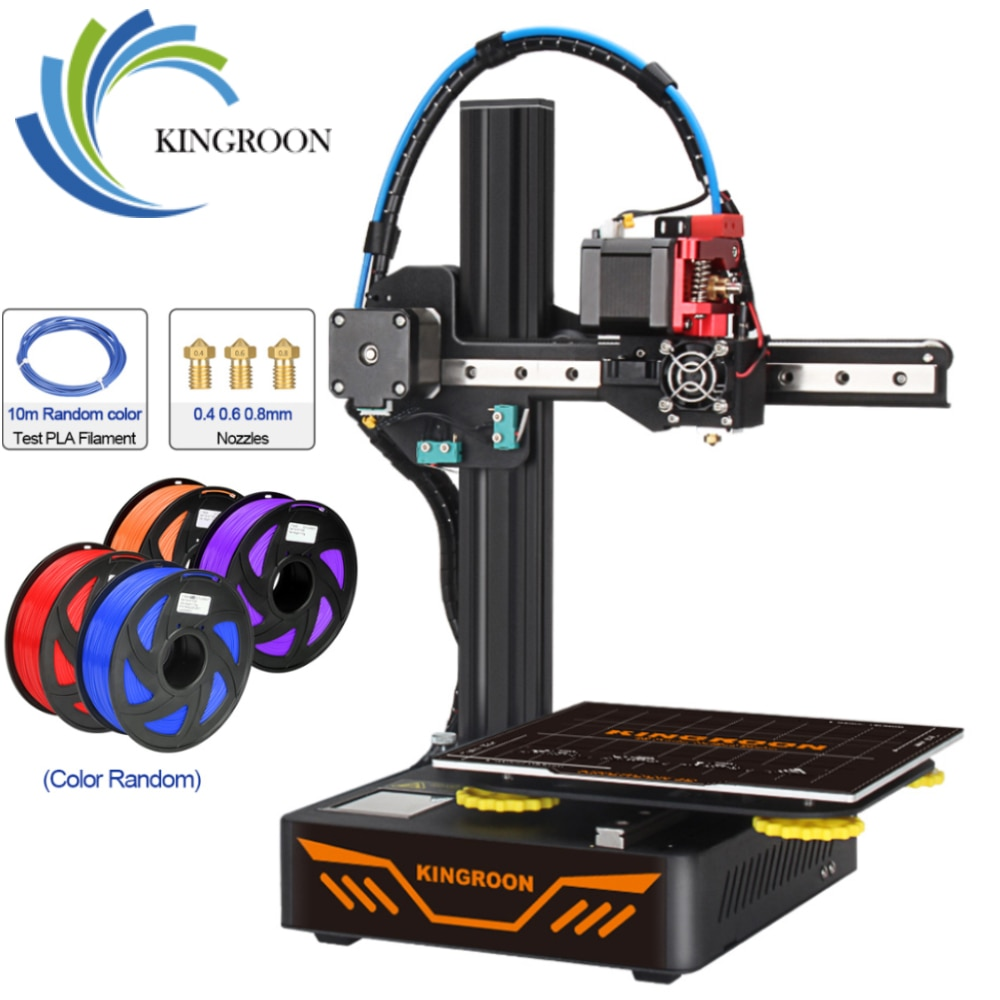 KINGROON KP3S 3D Printer High Precision Printing Upgraded DIY 3d printer Kit Touch Screen Pringting Size 180*180*180mm