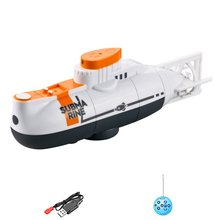 Mini RC Submarine 6 Channel Remote Control Boat Ship Waterproof Diving Toy Simulation Model Gift For