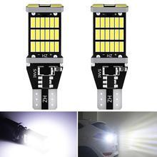 2x Canbus Error Free T15 W16W LED Bulbs Car Backup Reverse Light for BMW E60 E90 E91 Ford Fiesta Fusion Focus Mazda 3 5 6 CX-5