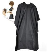 Adulte/enfants Salon de coiffure en Nylon châle avec fermeture à pression Cape de coiffure professionnel coupe de cheveux robe barbier Cape salle de bain approvisionnement