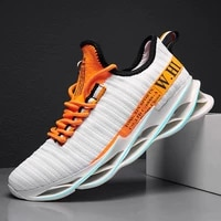 zoxo new blade running shoes man korean spring shoes non slip light shock absorber breathable sports shoes black