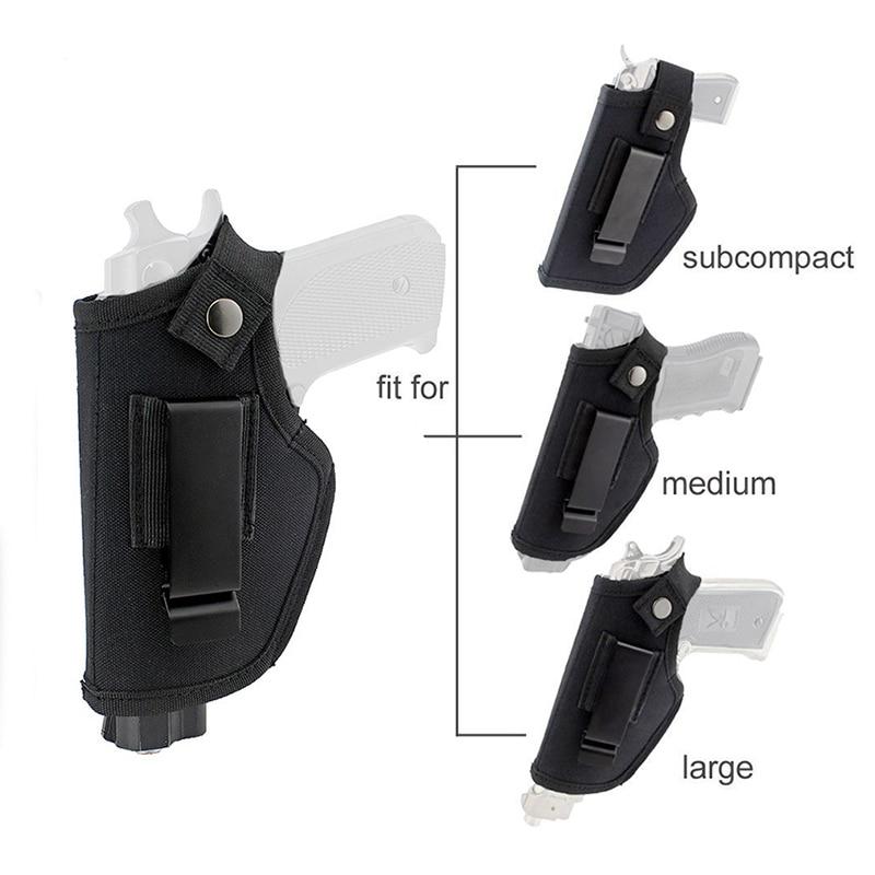 Тактическая кобура для пистолета Glock Colt 1911 Beretta M9 P226, кобура для пистолета Glock, кобура для пистолета, поясная сумка для охоты, для страйкбола, чехол для левой/правой руки