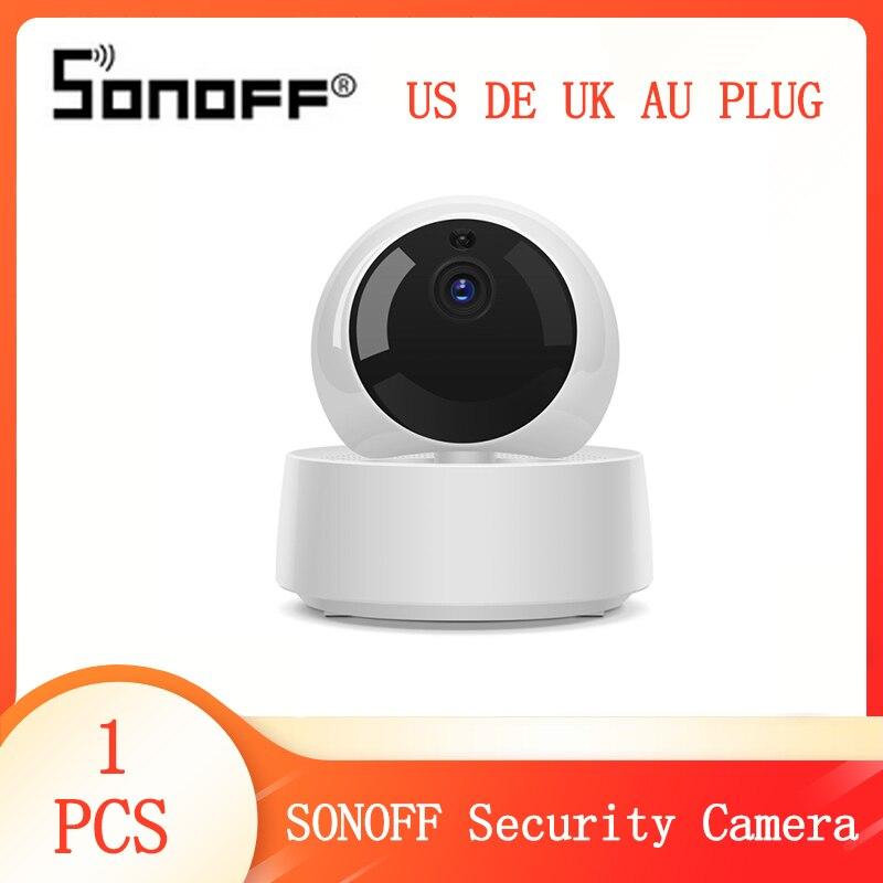 Nueva Mini cámara Wifii SONOFF GK-200MP2-B 1080P, cámara IP inalámbrica para casa inteligente, cámara de vigilancia con Monitor de noche IR 360