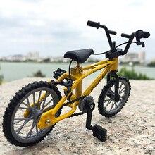 Mini doigt vélo jouets créatif alliage doigt VTT enfants grandir Fixie vélo doigt Scooter jouet cadeau bureau décor