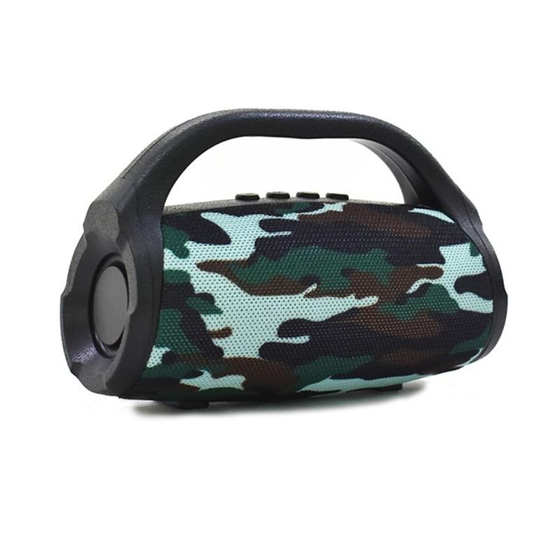 Handsfree Portable Card Bluetooth Speaker Outdoor AUX USB TF Mini Audio Subwoofer FM Radio Altavoz Boombox Caixa De Som F4033