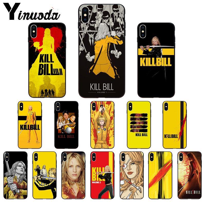 Yinuoda matar a Bill película funda de teléfono de TPU blanda cubierta para el iPhone de Apple 8 7 6 6S Plus X XS X MAX 5 5S SE XR 11 11pro max cubierta