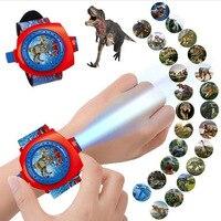 Куртка для детей с рисунком динозавра часы с акулой проектор ночного обучающих игрушек для детей планшет фонарик спальный Книги по истории ...