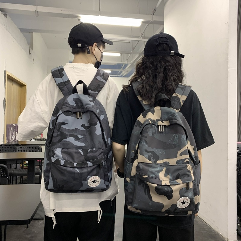 Weysfor Camouflage Color Backpack For Men Women Waterproof Multi Pocket Travel Backpacks Large Capacity School Bag For Teenage