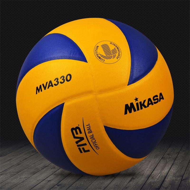 الأصلي اليابان Mikasa الكرة الطائرة MVA330 لينة بولي Leather الجلود التدريب المهنية المنافسة الرسمية الكرة الطائرة
