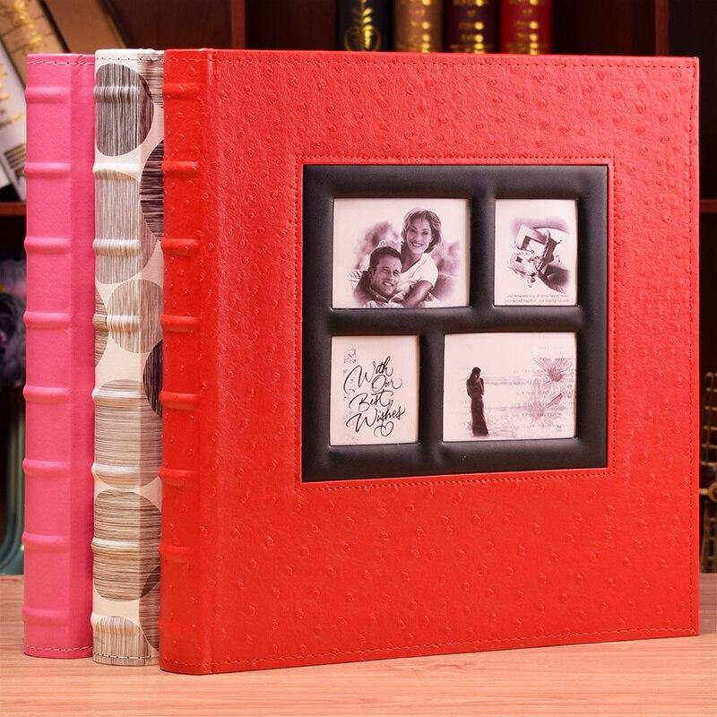 Capa do plutônio 6 Polegada 4r fotos 400 bolsos álbum de fotos de grande capacidade inserção álbum de fotos casamento família bebê casa decoração álbum de memória livro