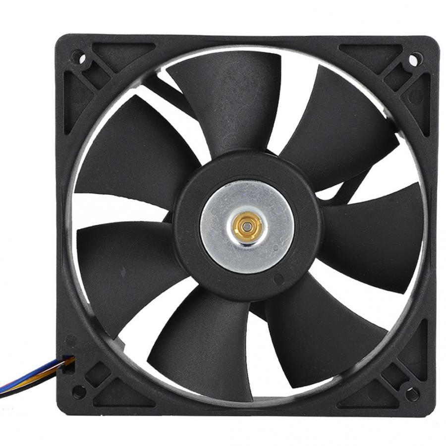 SHLF1212PHE-15 DC12V 0.8A 12cm 4pin Industrial ventilador de refrigeración 3000 RPM 110CFM servidor refrigerador