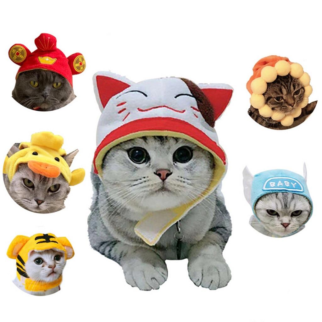 Gorro para perro mascota diseño Cosplay gato sombrero para mascotas disfraces para fiestas de perros y gatos suministros para mascotas accesorios para gorra Chapeau de chien Z109