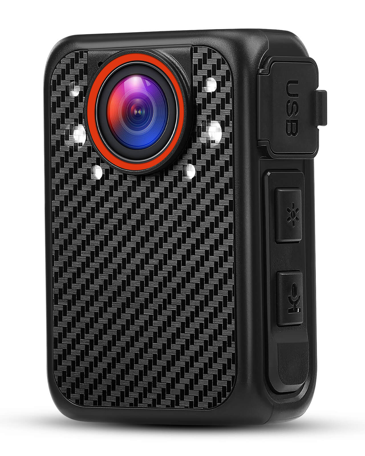 BOBLOV X1 بوديكام 1080P المحمولة الشرطة كاميرا يمكن حملها بالجسم دعم 128GB للرؤية الليلية البالية الأمن كامارا كاميرات الفيديو المصغرة