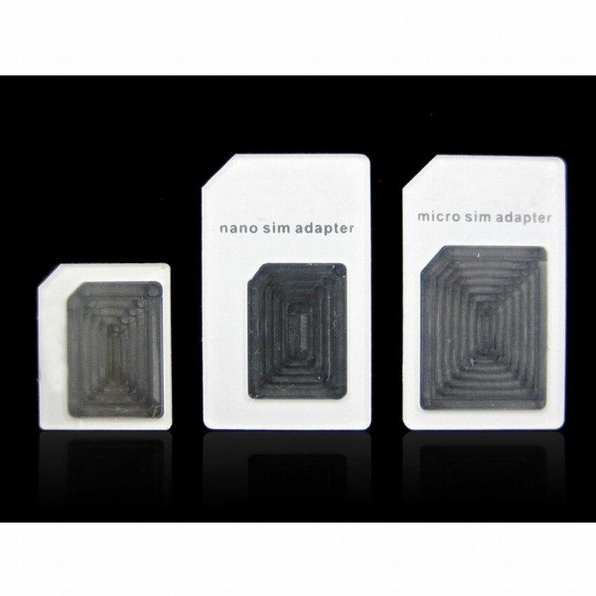 Adaptador de tarjeta Sim Dual noosy 4 en 1 para iPhone 6S 5, adaptador Nano Samsung a tarjeta Sim Micro estándar, adaptador de Pin de eyección