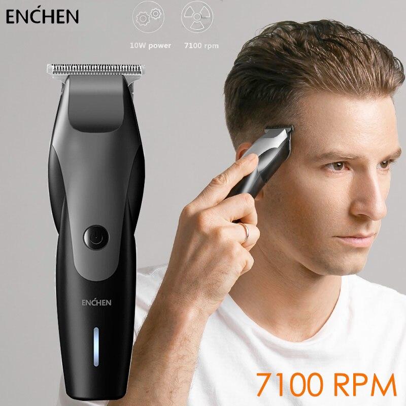 ENCHEN Waterproof Hair Clipper Professional Trimmer Men's Beard Cutting Machine Charging Wireless Trimmer USB Hair Trimmer