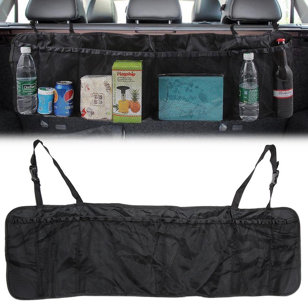 Organizador de maletero de coche asiento trasero bolsa para hyundai i 30 audi a4 b8 chrysler 300 mustang 2016 honda crv civic 2017 subaru wrx