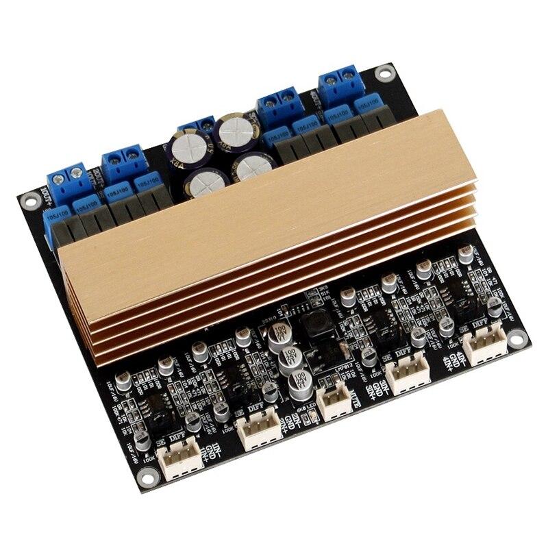 RISE-1Pcs Tpa3255 placa amplificadora Digital de cuatro canales de alta potencia Clase D