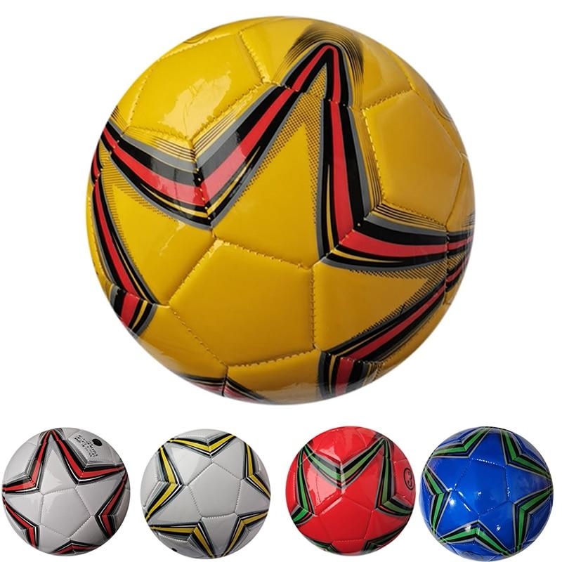 Новинка 2021, Официальный футбольный мяч, размер 3, молодежная школьная тренировочная игра, футбольный мяч из полиуретана, Прошитый резиновый ...
