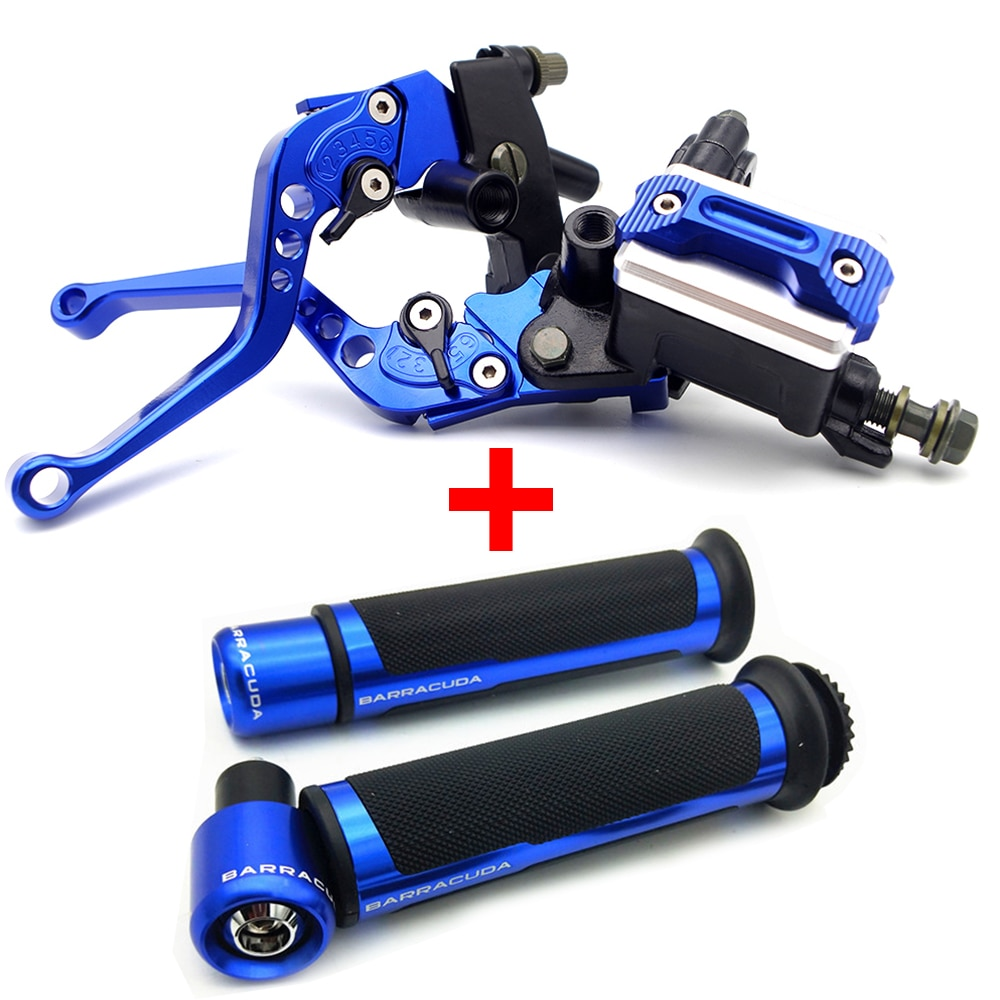 Palancas de embrague de freno CNC para motocicleta, manillas de manillar, mango de mano para Yamaha cygnus fzs Hyosung 125 Ducati diavel