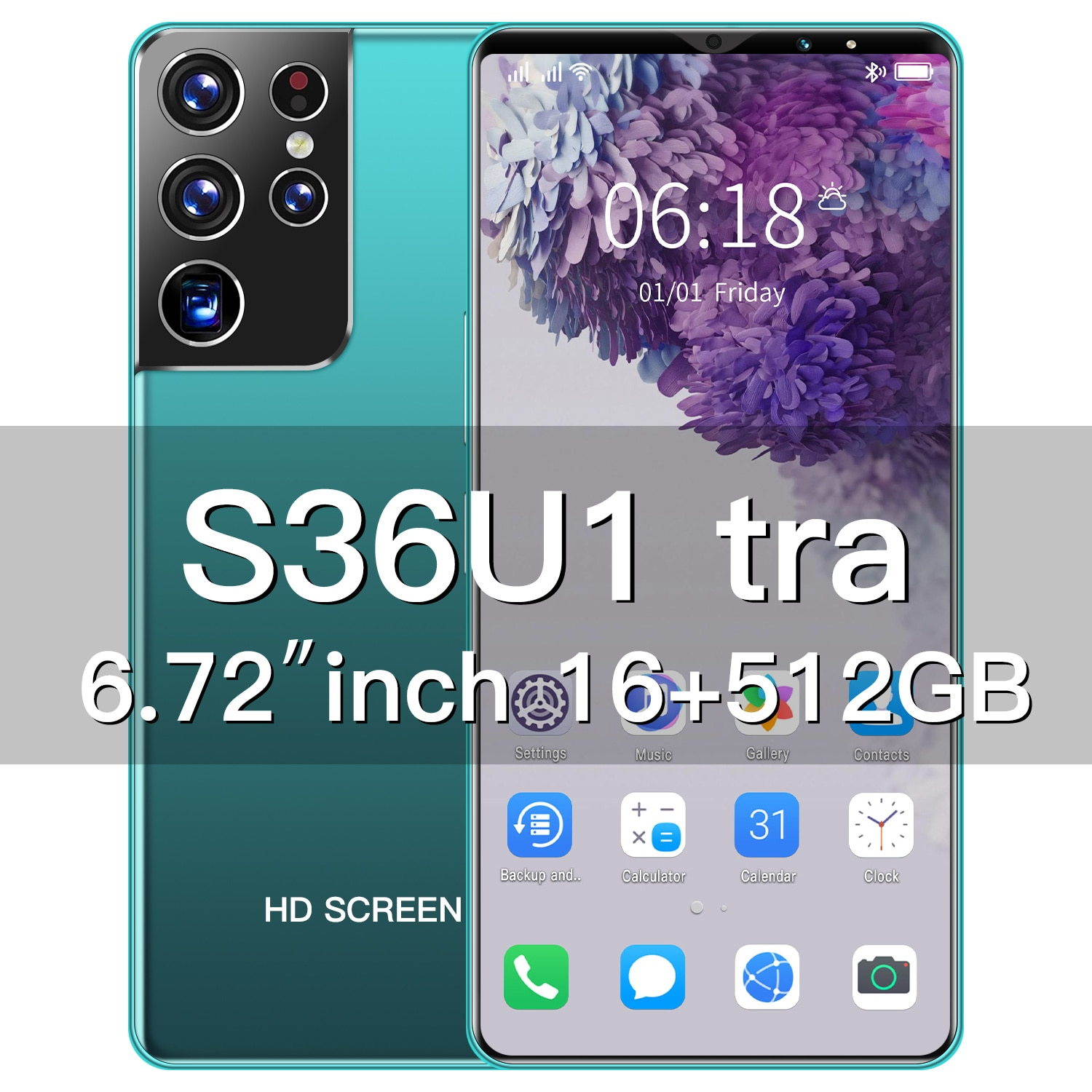 Newest Global Version S36Ultra 6.72