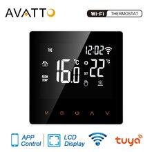 AVATTO Tuya WiFi Smart Thermostat,ทำความร้อนความร้อนน้ำ/หม้อไอน้ำอุณหภูมิรีโมทคอนโทรลสำหรับ Google Home,alexa