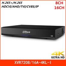 Dahua 8 canaux 16 canaux enregistreur penta-brid 4K 1U numérique 4K XVR H.265 + prend en charge les entrées IP HDCVI AHD TVI CVBS pour la sécurité