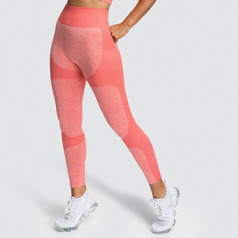 SALSPOR Shark Seamless Leggings Women Fitness High Waist Yoga Pants Push Up Scrunch Butt Sport Leggings Gym Tights Sports Wear