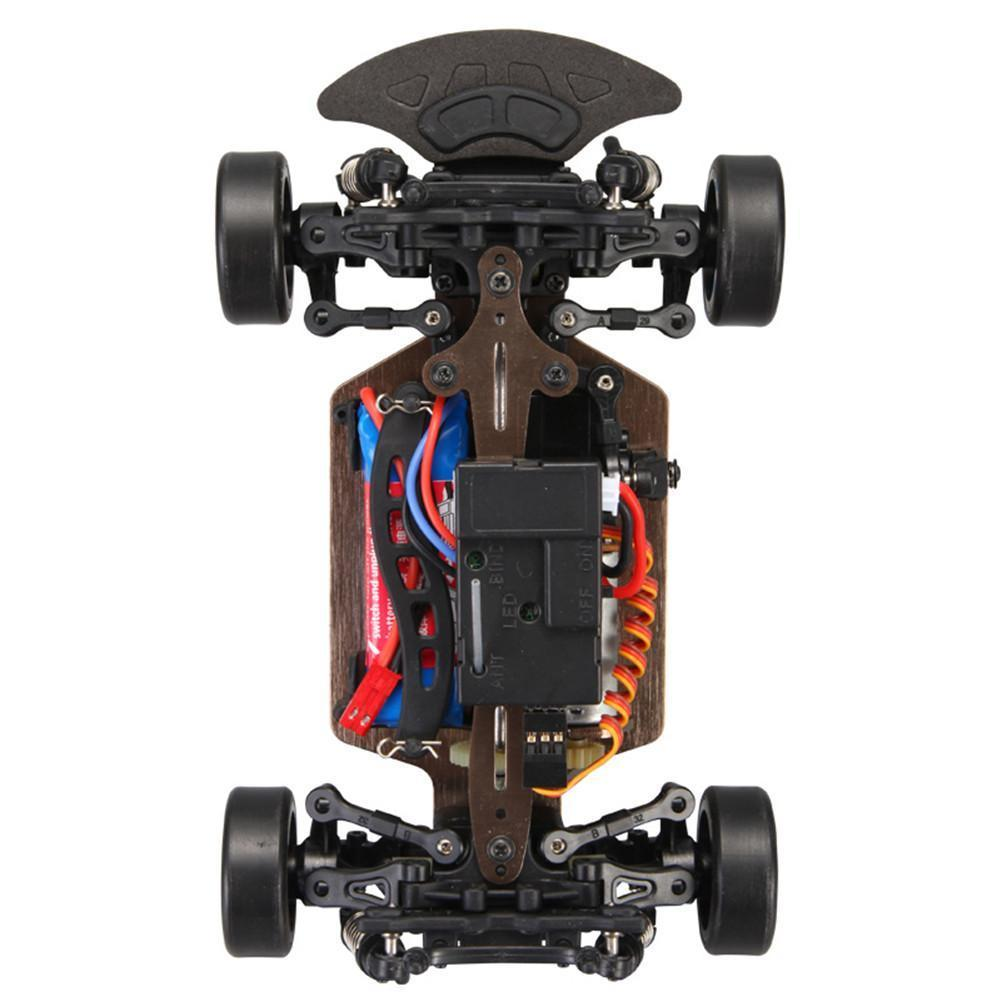 Wltoys A252 1:24 RC Car 4WD Electric 4x4 Drive 2.4GHz Racing Planning Desert Off-road Drift Car Speed 35km Alloy Material  X1209 enlarge