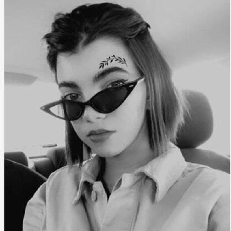 Vintage Fashion Cat Eye Sunglasses For Women Sunglasses Eyeglasses Female Triangular Sun Glasses Ocu