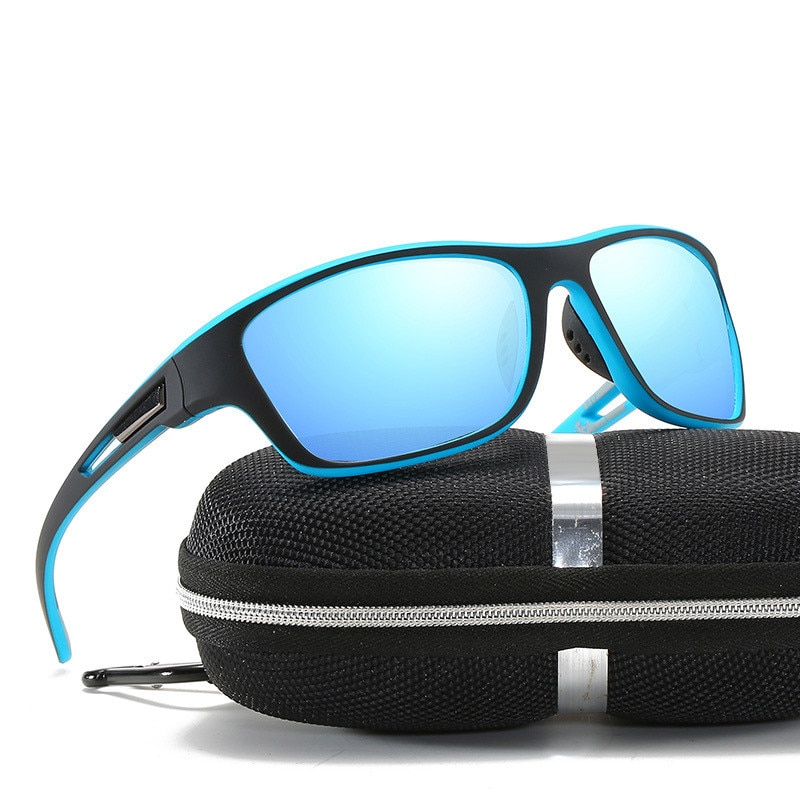 Поляризованные солнцезащитные очки 2021 для мужчин и женщин, мужские пылезащитные очки, солнцезащитные очки серии, зеркальные уличные очки д...