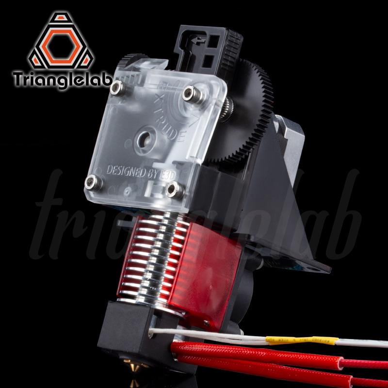 Trianglelab 3D impresora titan extrusora para 3D impresora reprap MK8 J-La bowden Envío Gratis para CR10 i3 ender 3