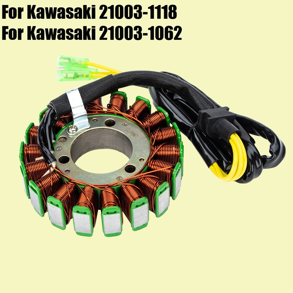 Stator Coil for Kawasaki VN750 Vulcan 750 VN750 Twin 21003-1118 Motorcycle Generator Magneto Coil VN 750 high speed motorcycle rotor magneto kits stator coil for yinxiang lying 150cc and 160cc engine motor accessories