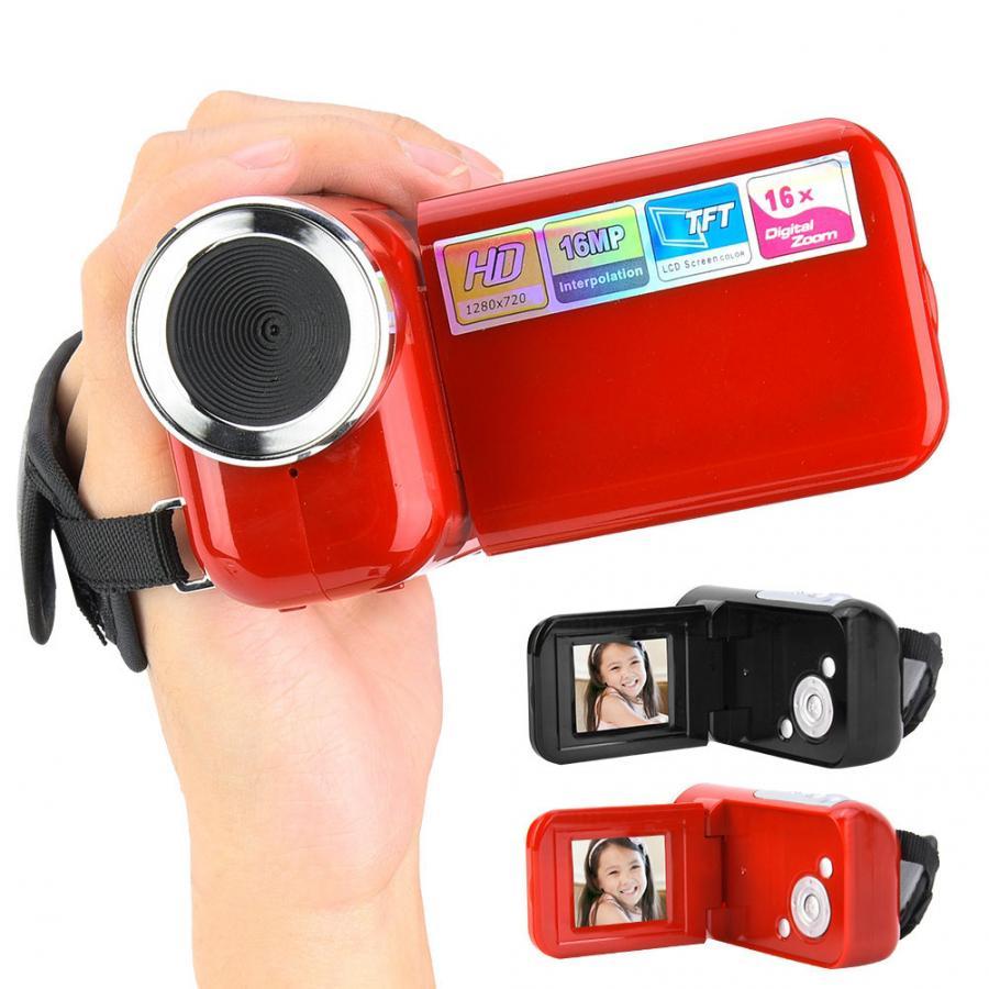 Videocámara Digital portátil 16X HD con soporte de 2 pulgadas TFT LCD Sceen para fotografía y Video juguete para niños regalos